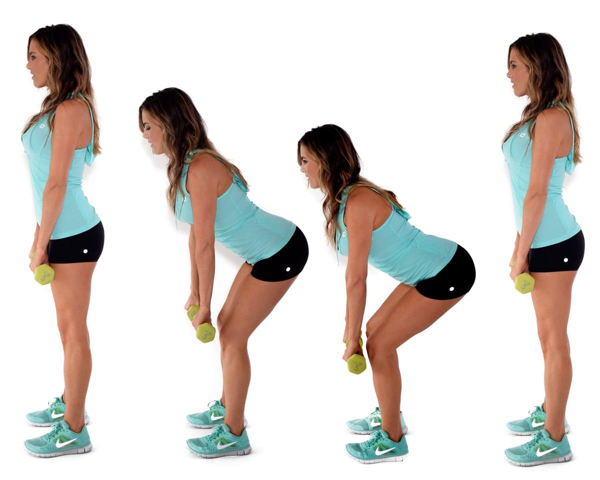 Exercise 8 Single Leg Standing Dumbbell Calf Raise