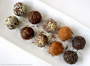 Variety of Protein Balls