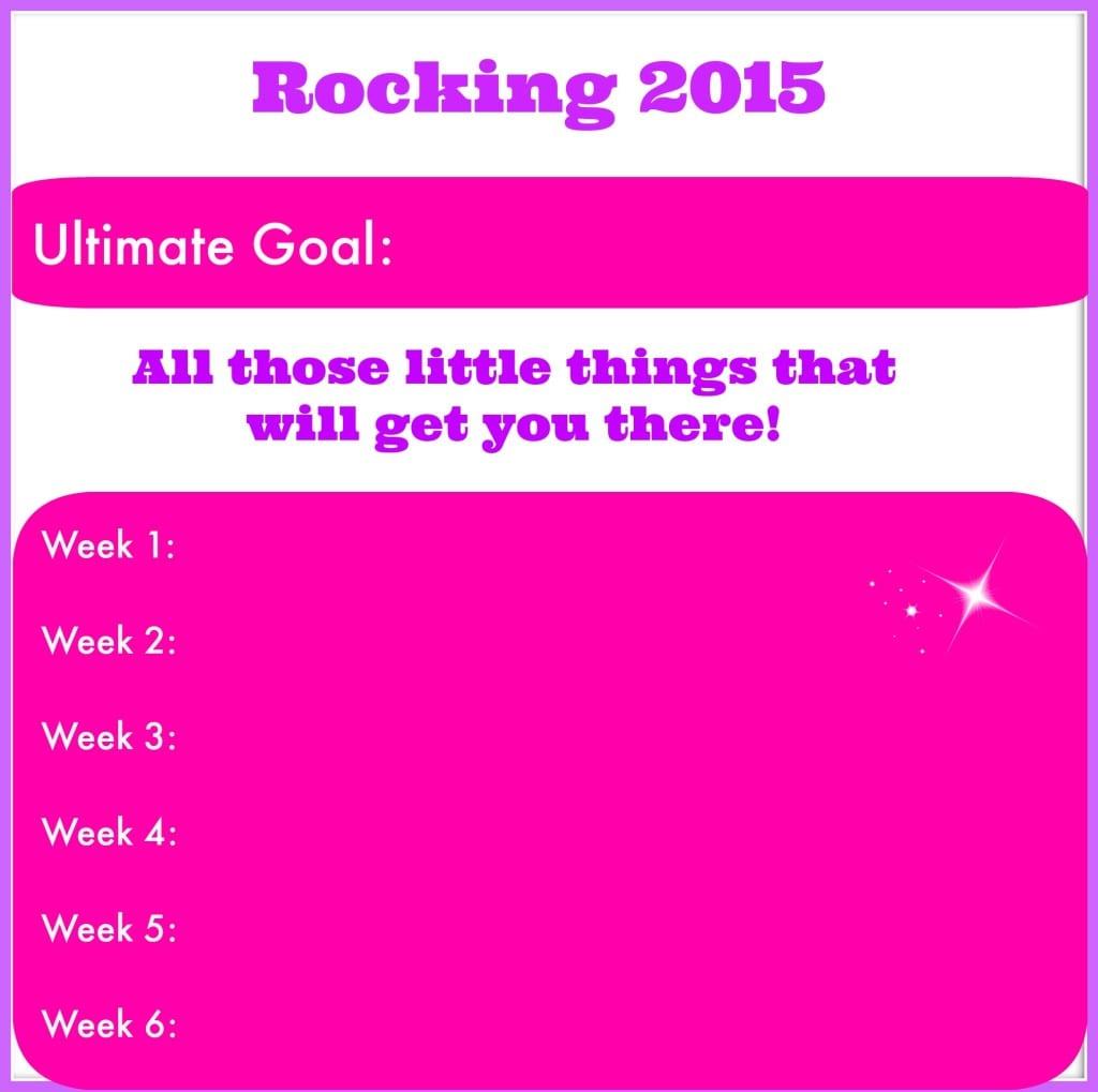 6week goals