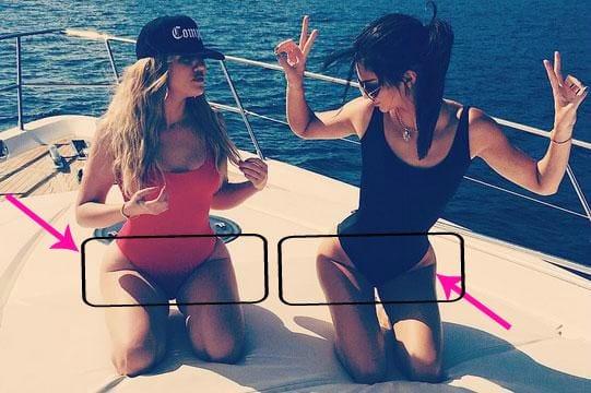 thighbrow kardashian weightloss thigh gap khloe kardashian fitness