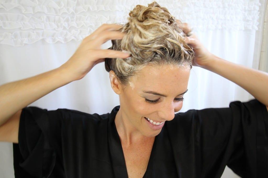 organic hair care skin care