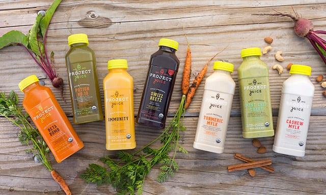 Project juice, juice cleanse, juicing, green juice, juice
