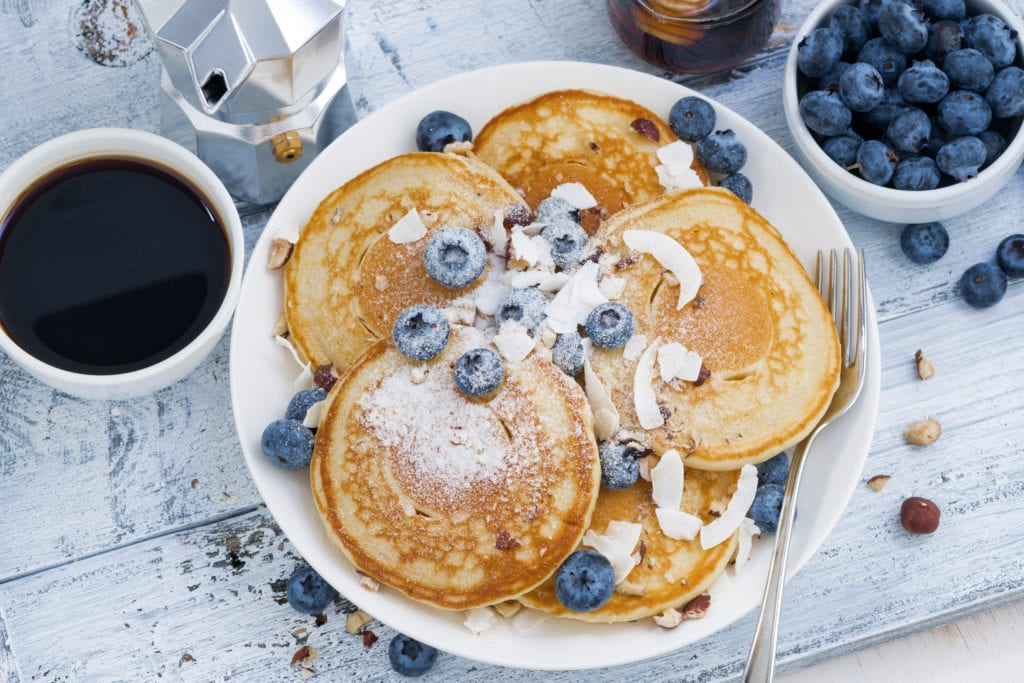 blueberry pancakes healthy breakfast foods