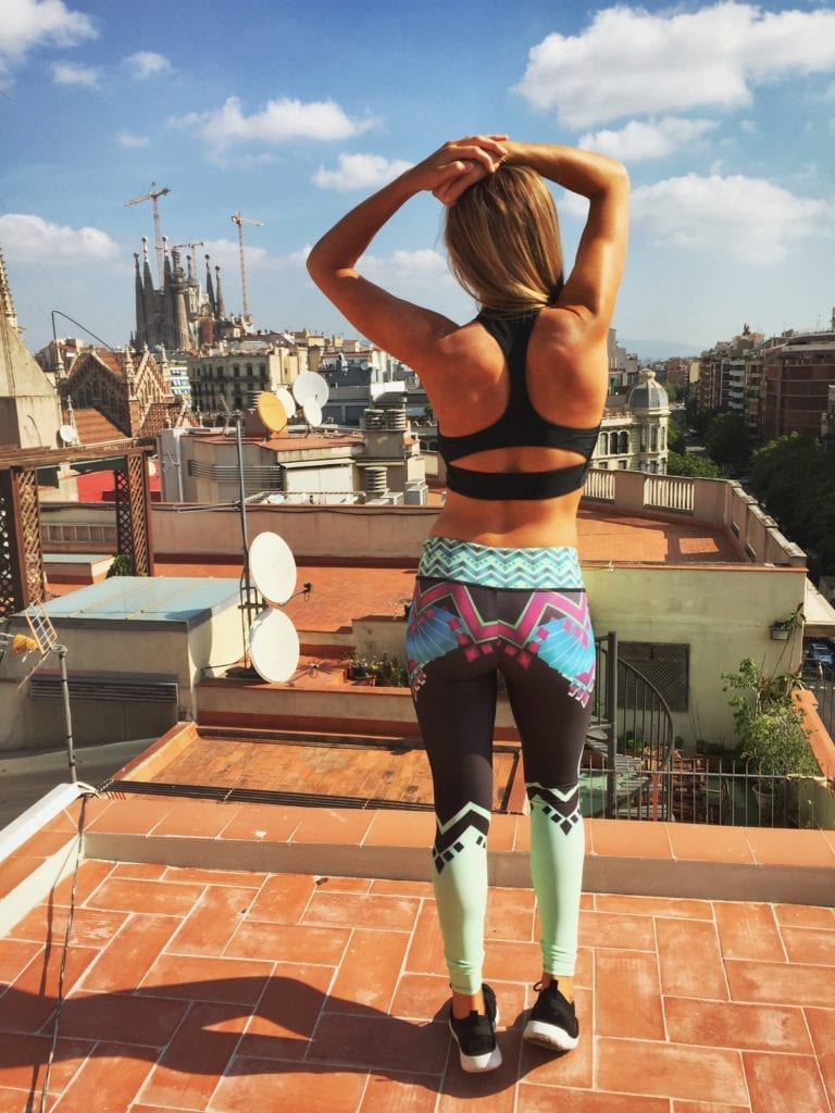 barcelona, weight loss, how to lose weight traveling, how to stay in shape traveling, spain, 3 days in barcelona