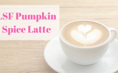 Guiltless Pumpkin Spice Latte