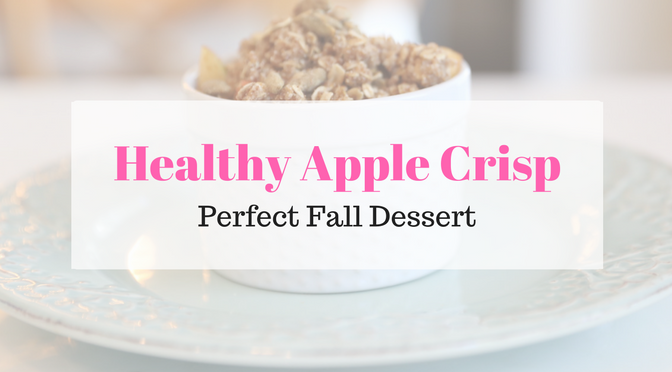 Healthy Apple Crisp for Two