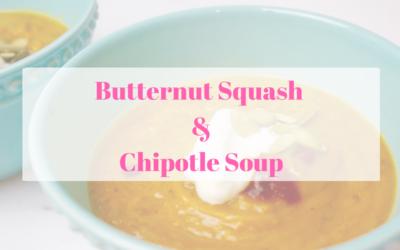 Butternut Squash, Peanut And Chipotle Soup Recipe — Dishmaps