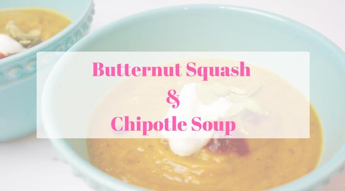 Butternut Squash Chipotle Soup