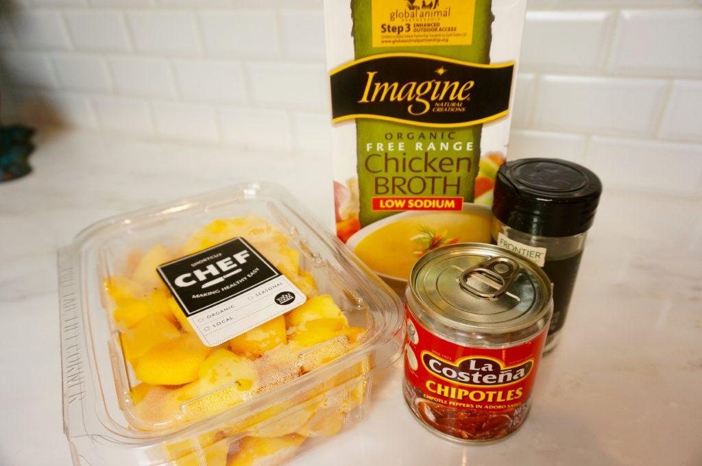 butternut squash chipotle soup ingredients