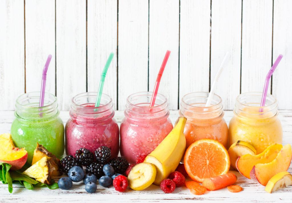 fresh fruit smoothies sugar detox