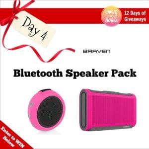 fitness giveaway speaker