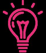 pink-light-bulb-icon