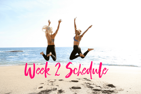 week 2 schedule, week 2 workout schedule, daily workouts, new daily workouts, weekly workouts, weekly workout schedule, lsf daily workouts, hot body guides, lsf hot body guides, lsf workout guides, new daily workouts for #Teamlsf