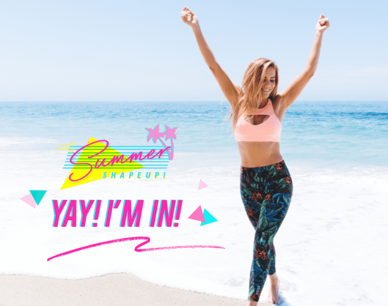Summer Shape Up Series, free daily workouts, summer shape up, lorna jane, shape up, free workouts