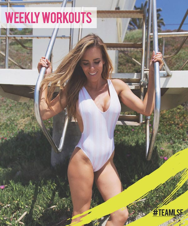 weekly workout schedule, weekly workouts, daily workouts, weekly workouts at home, free at home workouts, workout for women
