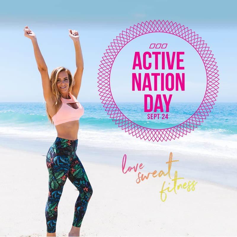 active nation day, weekly workout schedule