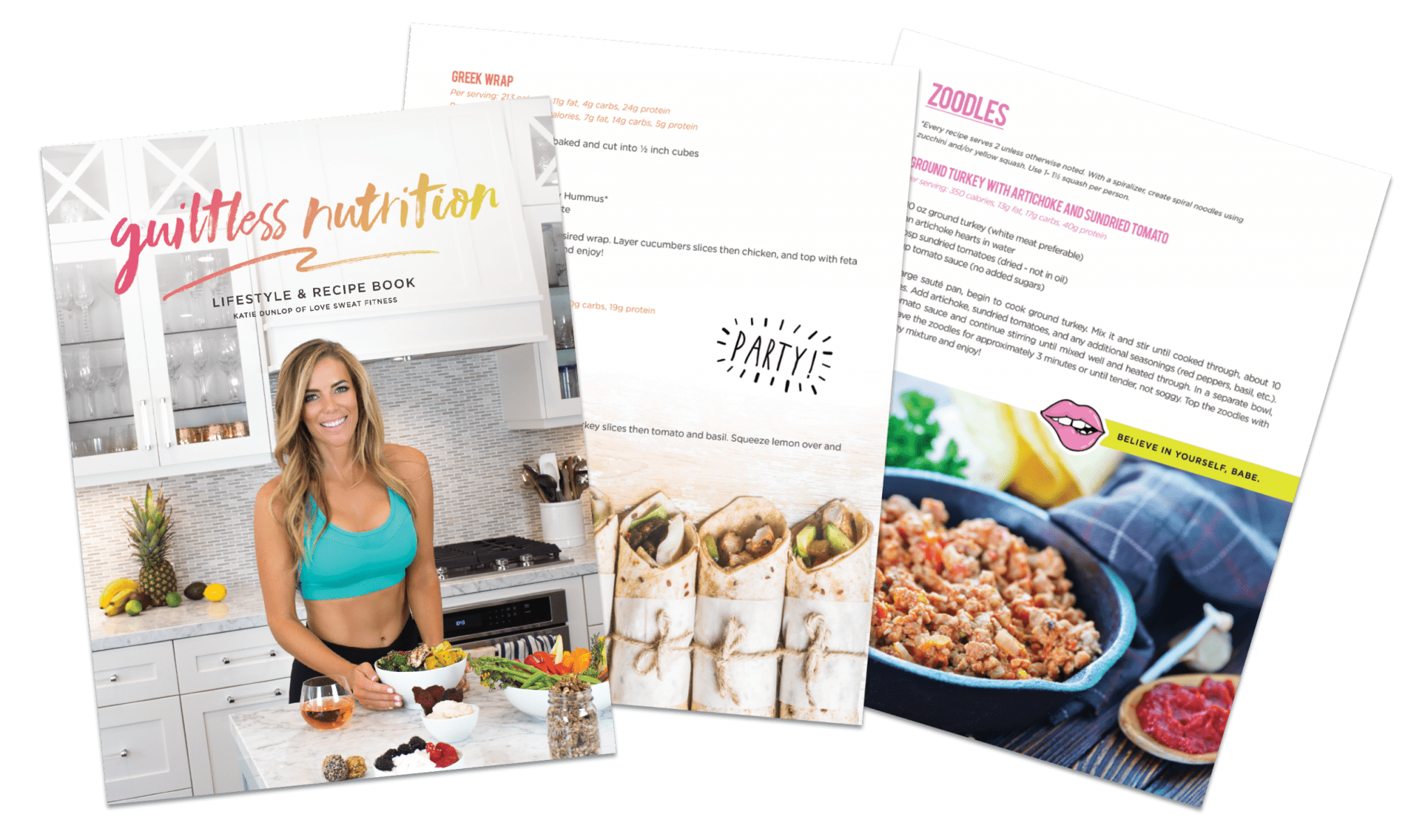 New blog test love sweat fitness everything you need to know about the guiltless nutrition lifestyle recipe book forumfinder Gallery