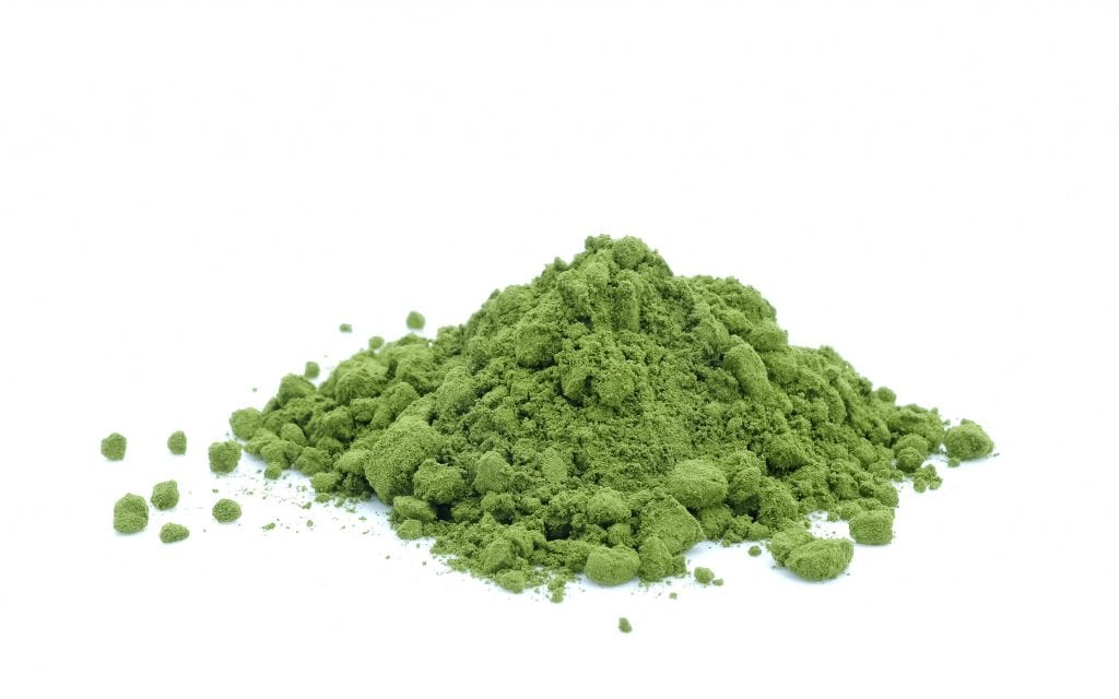 Green tea powder on white background., matcha, what is matcha, matcha latte