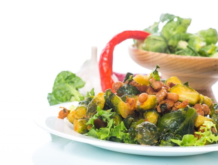 Spicy Brussle Sprouts Thanksgiving Side