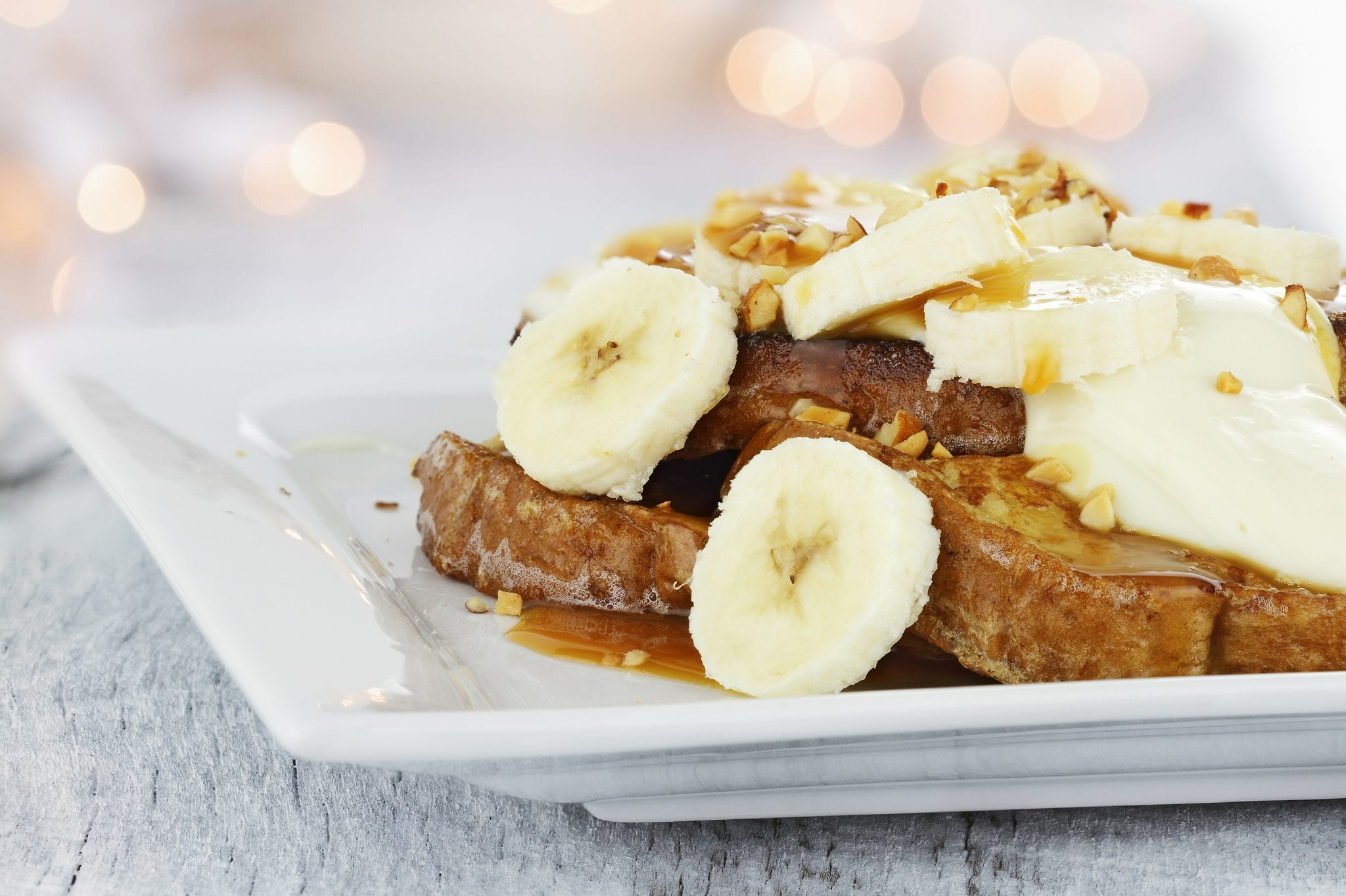 5 Minute Banana Nut French Toast, national french toast day, recipes, healthy recipes, breakfast recipes