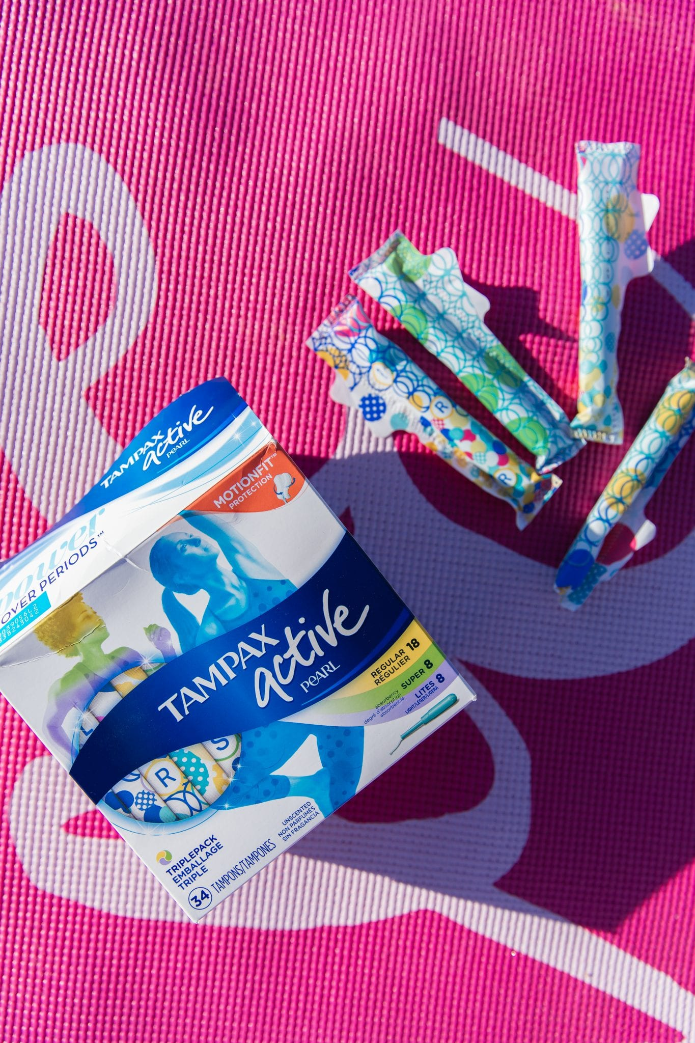 Should You Workout During?, tampax, tampax pear,
