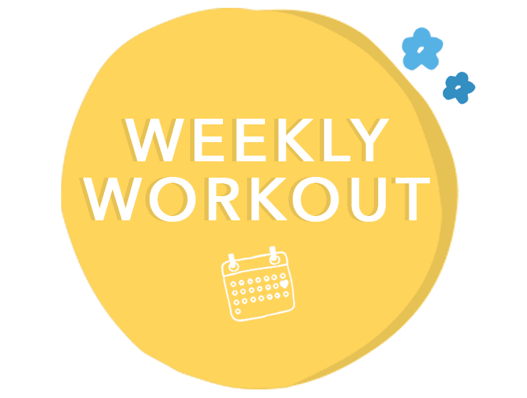 Weekly Workout Schedule Daily At Home