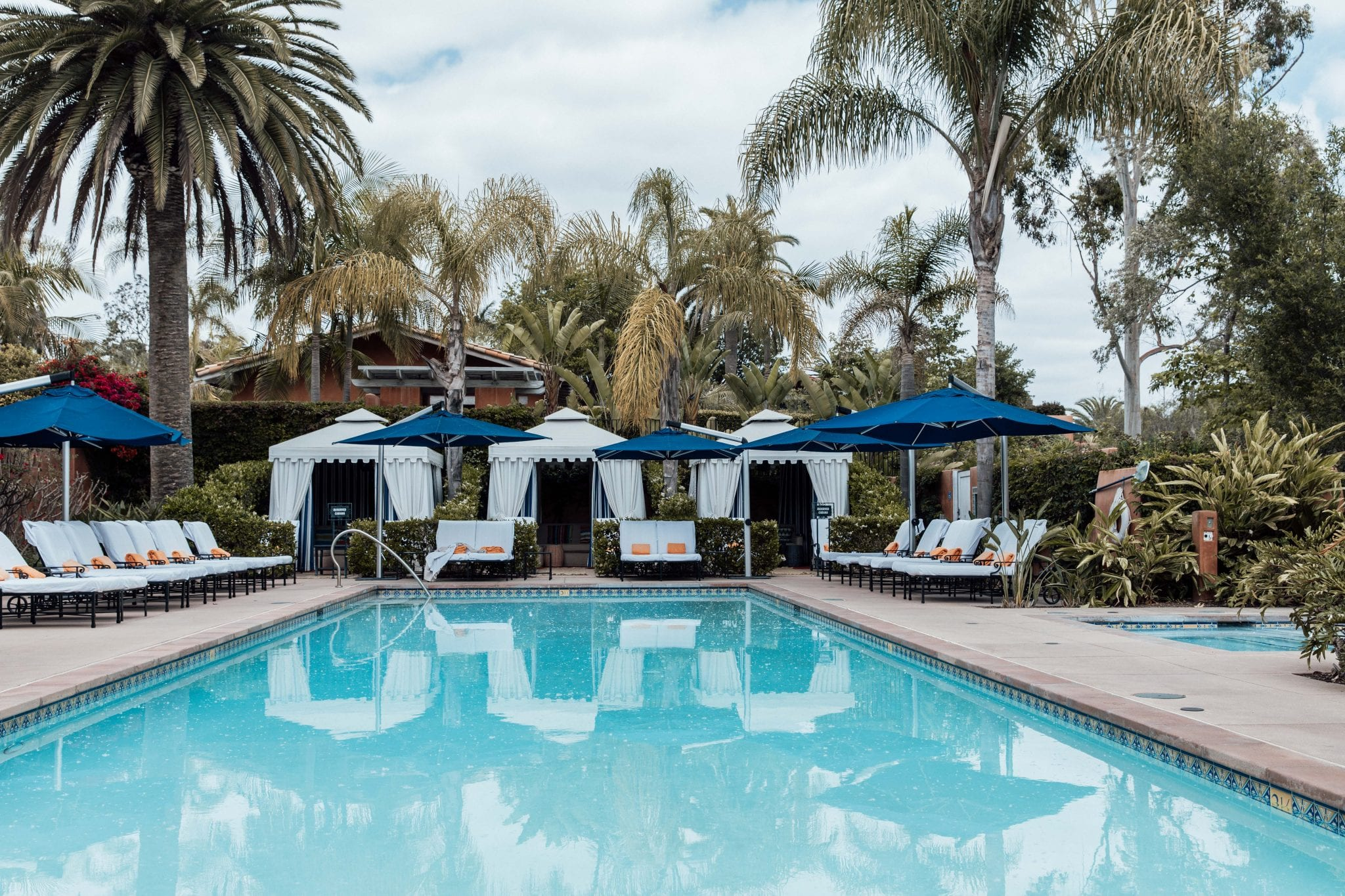 Rancho Valencia, pool, relaxation, getaway, self-care