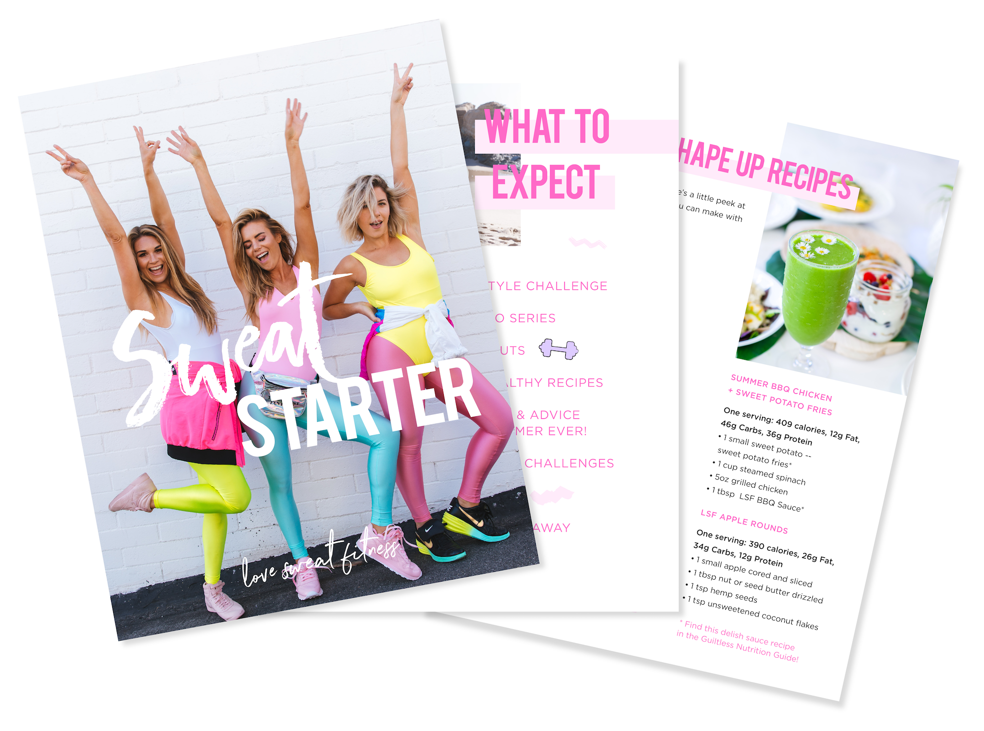 This free 8 week challenge will get you feeling confident and toned this summer! Join now and download your free sweat starter.