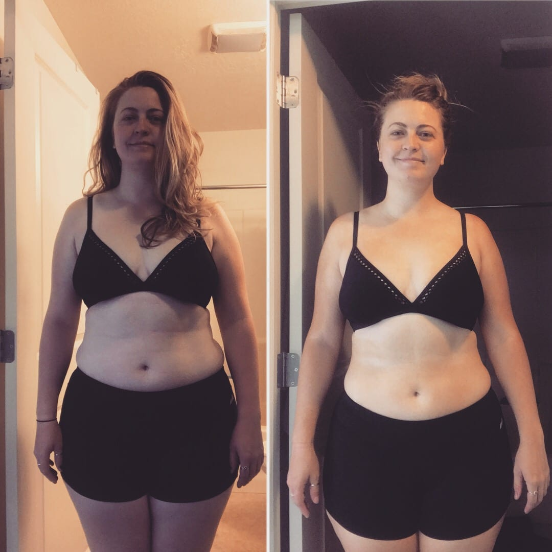 See Rebekah's amazing weight loss journey with Love Sweat Fitness!