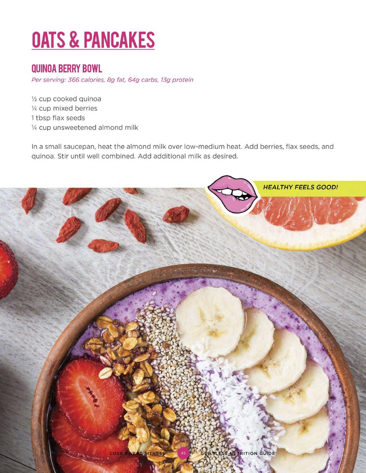summer shape up week 3, week 3 summer shape up, weekly workout schedule, meal plan, vegan breakfast recipe