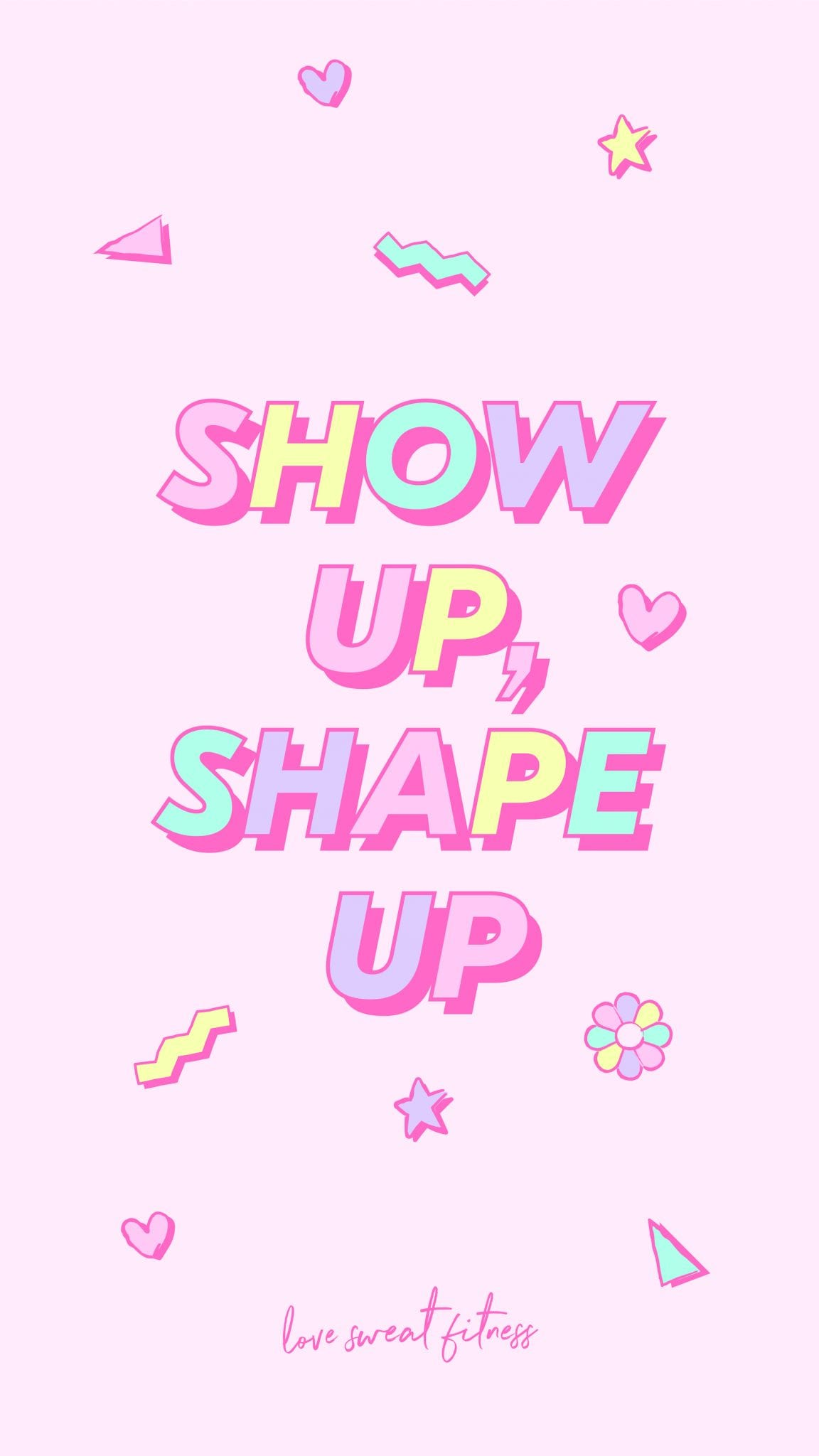 Stay Motivated With This Cute Phone Background For The Summer Shape Up Free 8 Week Challenge