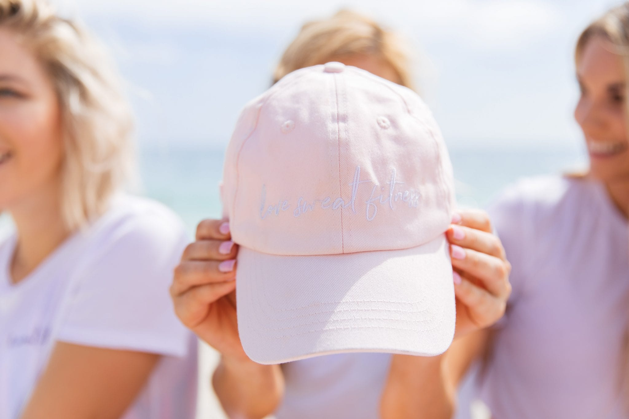 The all new LSF baby pink hat in our Summer Shape Up bundle only!