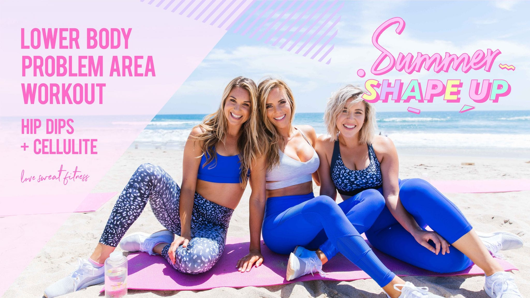 summer shape up week 5, summer shape up, weekly workout schedule, weekly workout