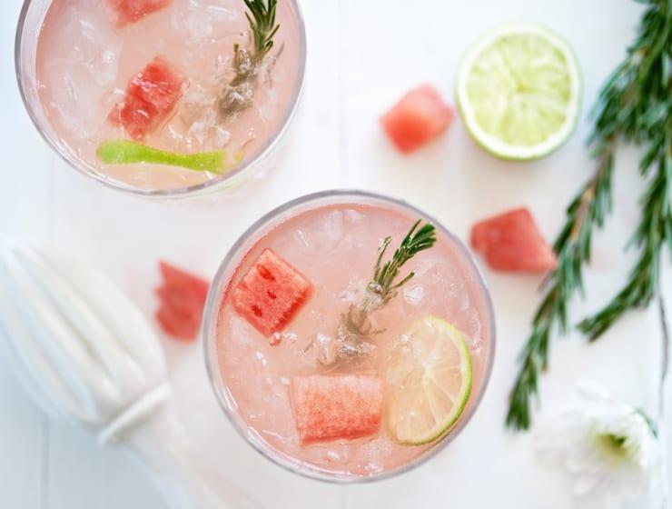 Watermelon Margarita, summer shape up week 5