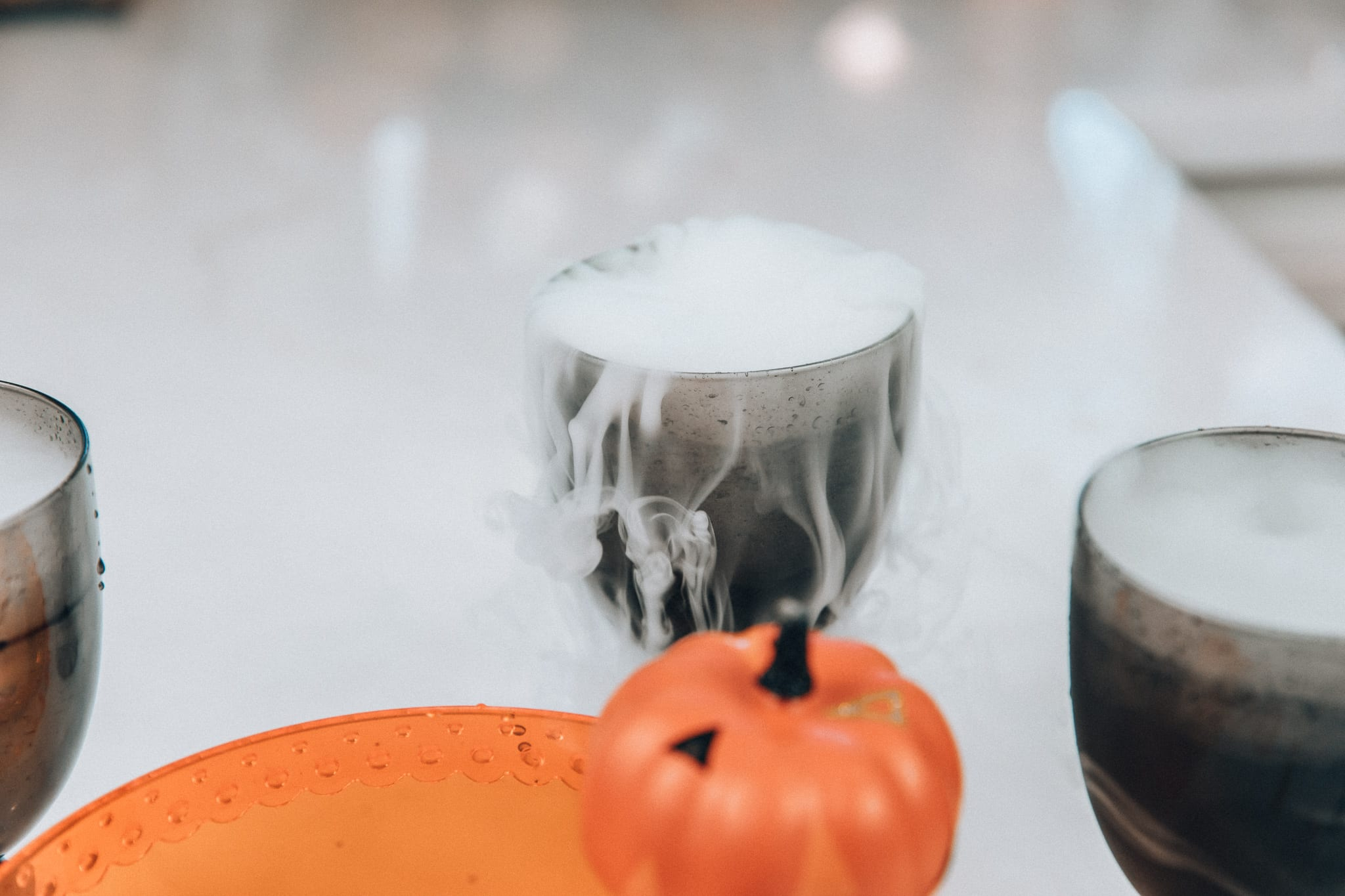 Try this fun, easy Halloween cocktail for a healthy drink that is also majorly Instagram friendly.