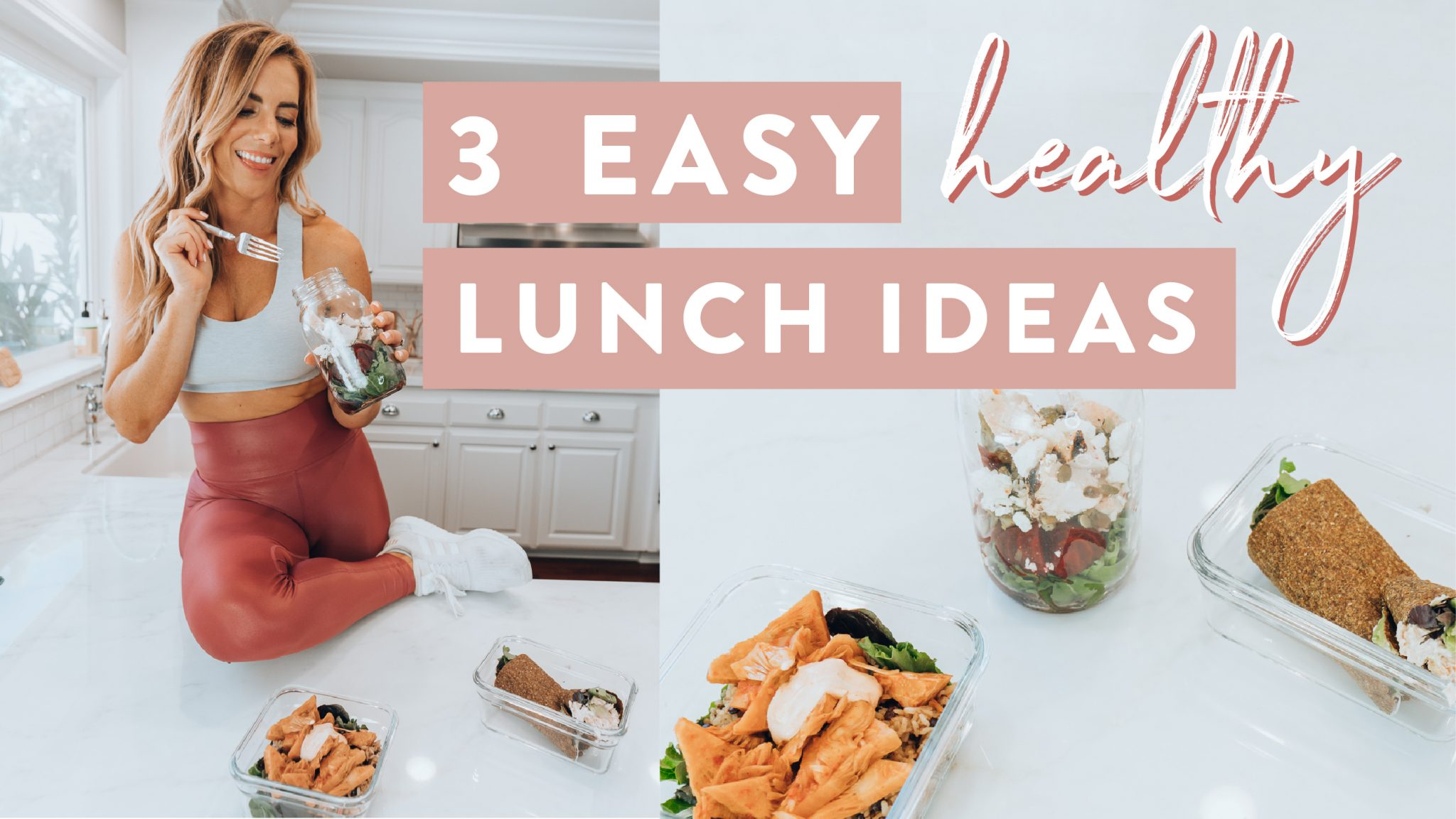 weekly workout what i eat in a day, 3 healthy lunch ideas for school and work photo for new video