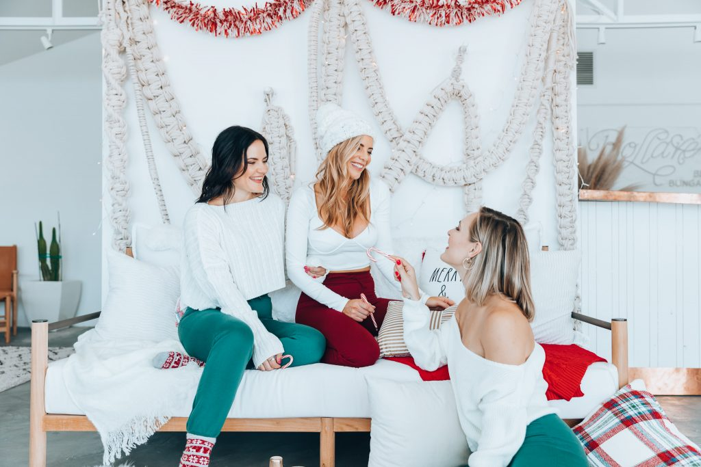 gift of you time Sleigh girls relaxing