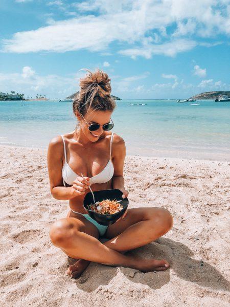 de-bloat katie eating