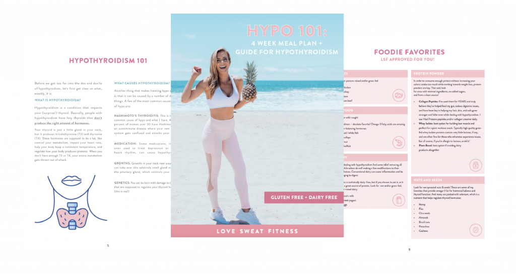 hypo 101 hypothyroidism meal plan