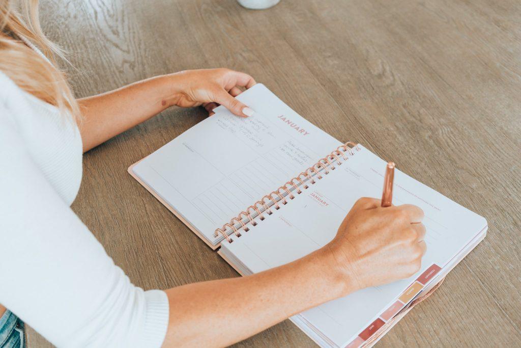 5 maneiras de se manter organizado durante as férias 2