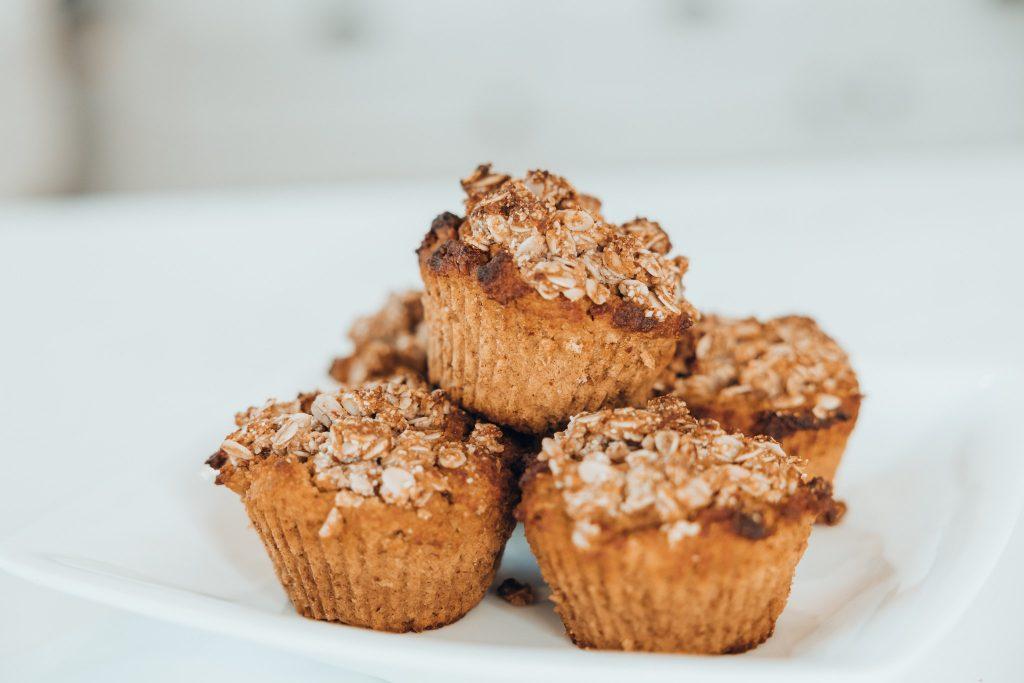 Muffins de abóbora saudáveis