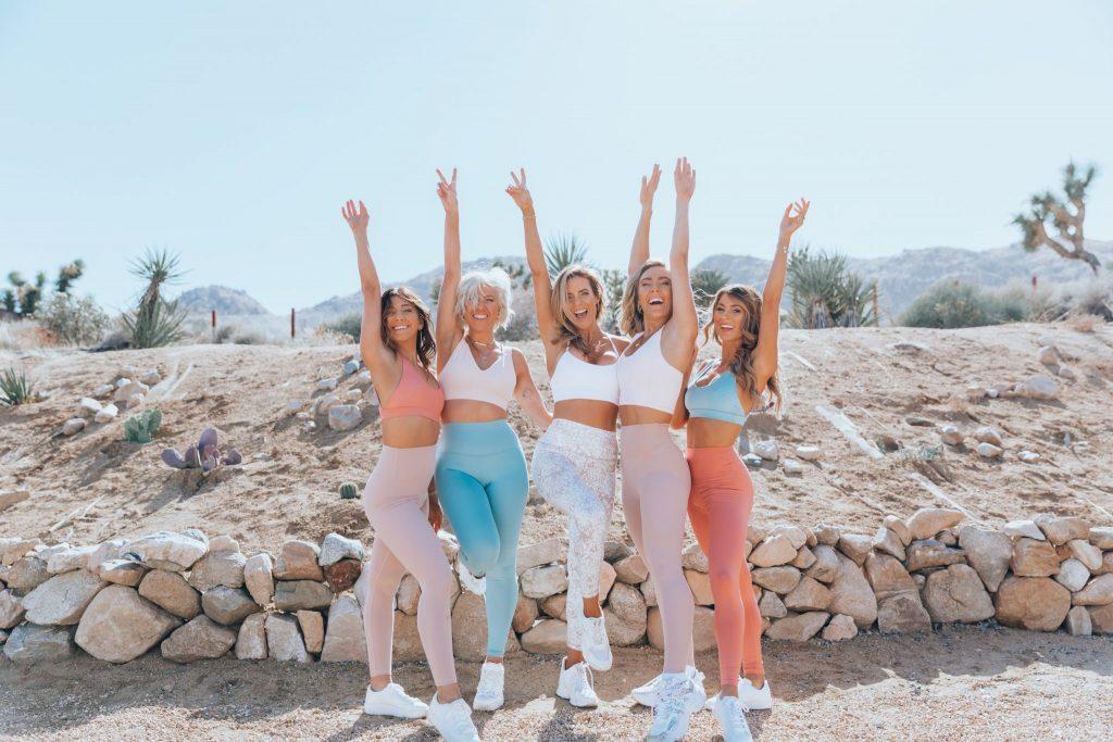 March women's workout schedule