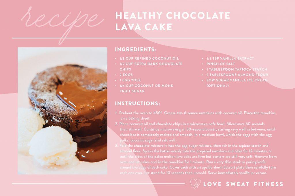 RecipeCard ChocolateLavaCake