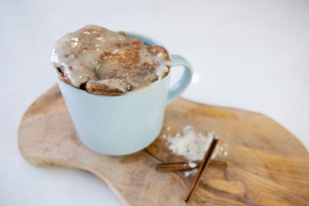 healthy mug cake recipe