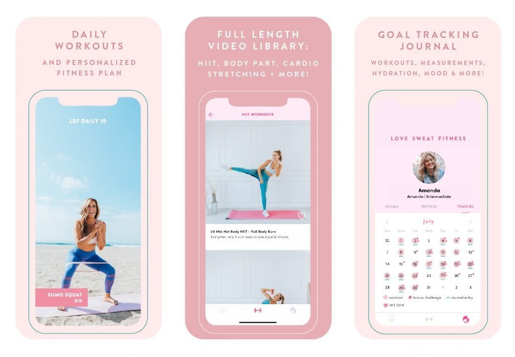 workout app for women