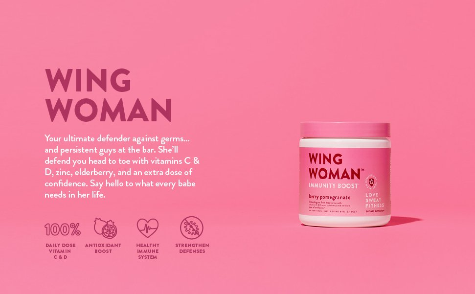 immunity boosts, boost your immune system, wing woman, immunity